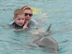 Wessel laat de dolfijn zingen