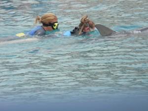 Onder water ziet het er weer anders uit