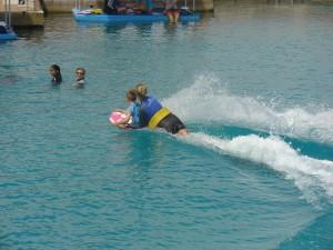 Samen met Mateo surfen!!