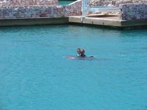 lekker met Chabelita zwemmen