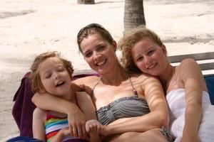 De Beach girls