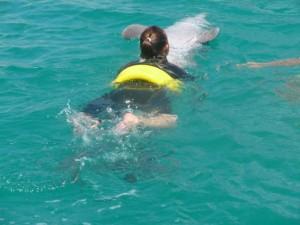 heerlijk relaxed zwemmen met Chabelita