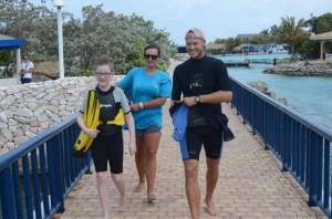 Luca, Josien en Paul, op weg naar Nubia!