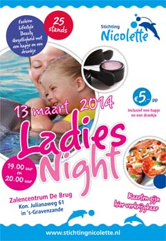 Lady Night Poster