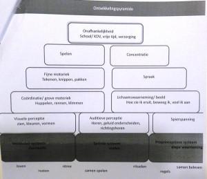 de ontwikkelingspyramide als basis voor sensorische integratie