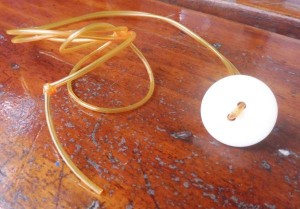 de knoop aan een touwtje ter bevordering van spierspanning in de mond
